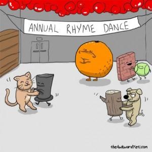 Word trivia: nothing rhymes with orange