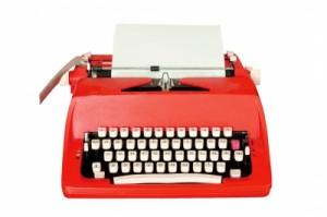 Classic typewriter