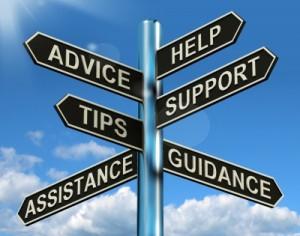 Advice help signpost